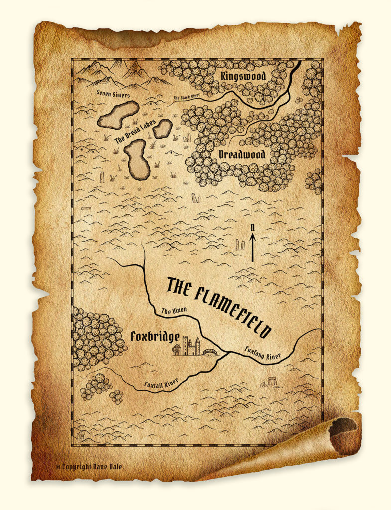 The Flamefield, Sagas of Irth